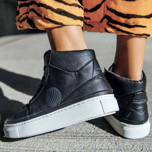 vegan sneakers black2 high2