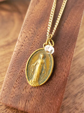 Load image into Gallery viewer, Gold Miraculous Medal