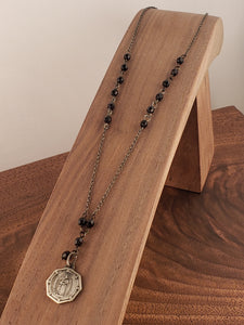 Scapular Rosary Style Necklace
