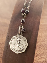 Load image into Gallery viewer, Scapular Rosary Style Necklace
