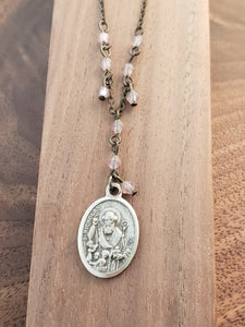 St. Nicholas Rosary Style Necklace