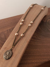 Load image into Gallery viewer, St. Peter Rosary Style Necklace