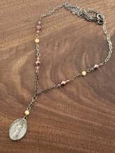 Load image into Gallery viewer, Saint Barbra Rosary Style Necklace