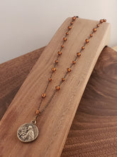 Load image into Gallery viewer, St. Joseph Rosary Style Necklace