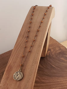 St. Joseph Rosary Style Necklace