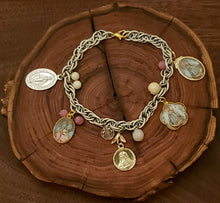 Load image into Gallery viewer, Nuestra Señora de Guadalupe Devotional Charm Bracelet