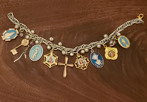 Marian Apparitions Charm Bracelet