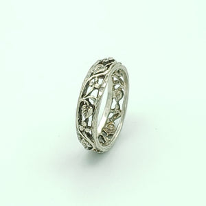 Sterling Silver Art Nouveau Ring