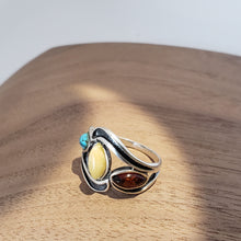 Load image into Gallery viewer, Southwest Wave Stone Ring