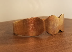 Brushed Copper Cuff
