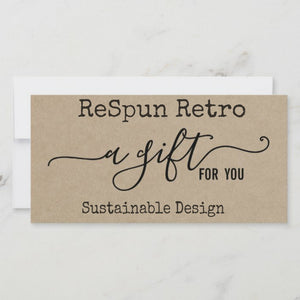 ReSpun Retro Gift Card