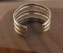 Load image into Gallery viewer, Minimalist Three Band Sterling Silver Ring