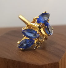 Load image into Gallery viewer, ReSpun Blue London Topaz Statement Ring