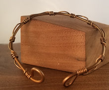 Load image into Gallery viewer, Wire Wrapped Copper Cuff