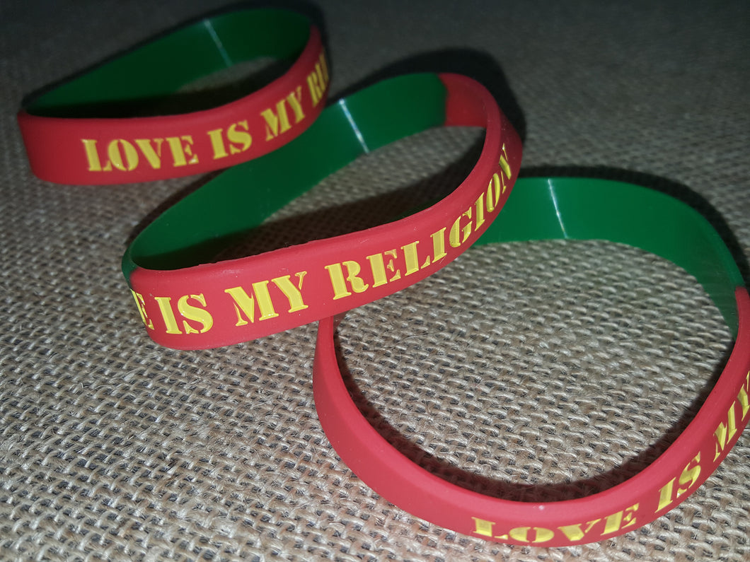 Love Is My Religion - Wristbands (2 for $4.99)