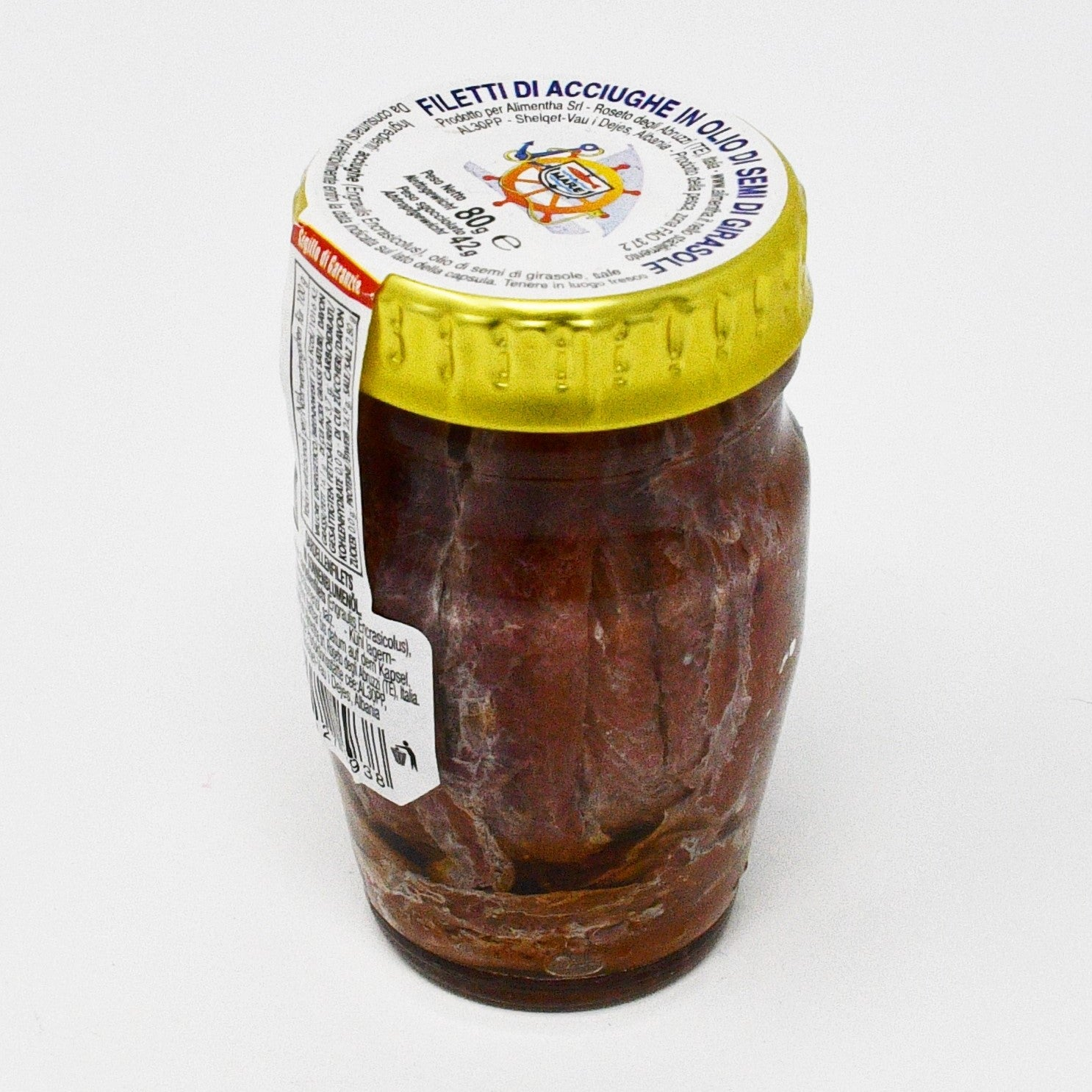 ANCHOVY FILLETS IN OIL (80g)