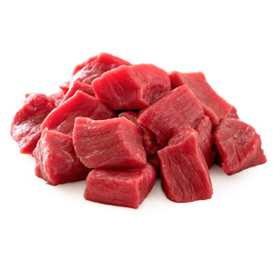 BEEF STEWING CUBES 500g