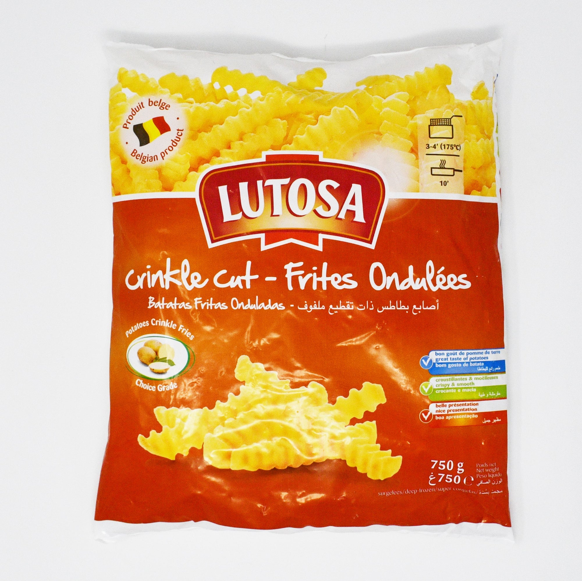 LUTOSA CRINKLE CUT FRIES (700g)