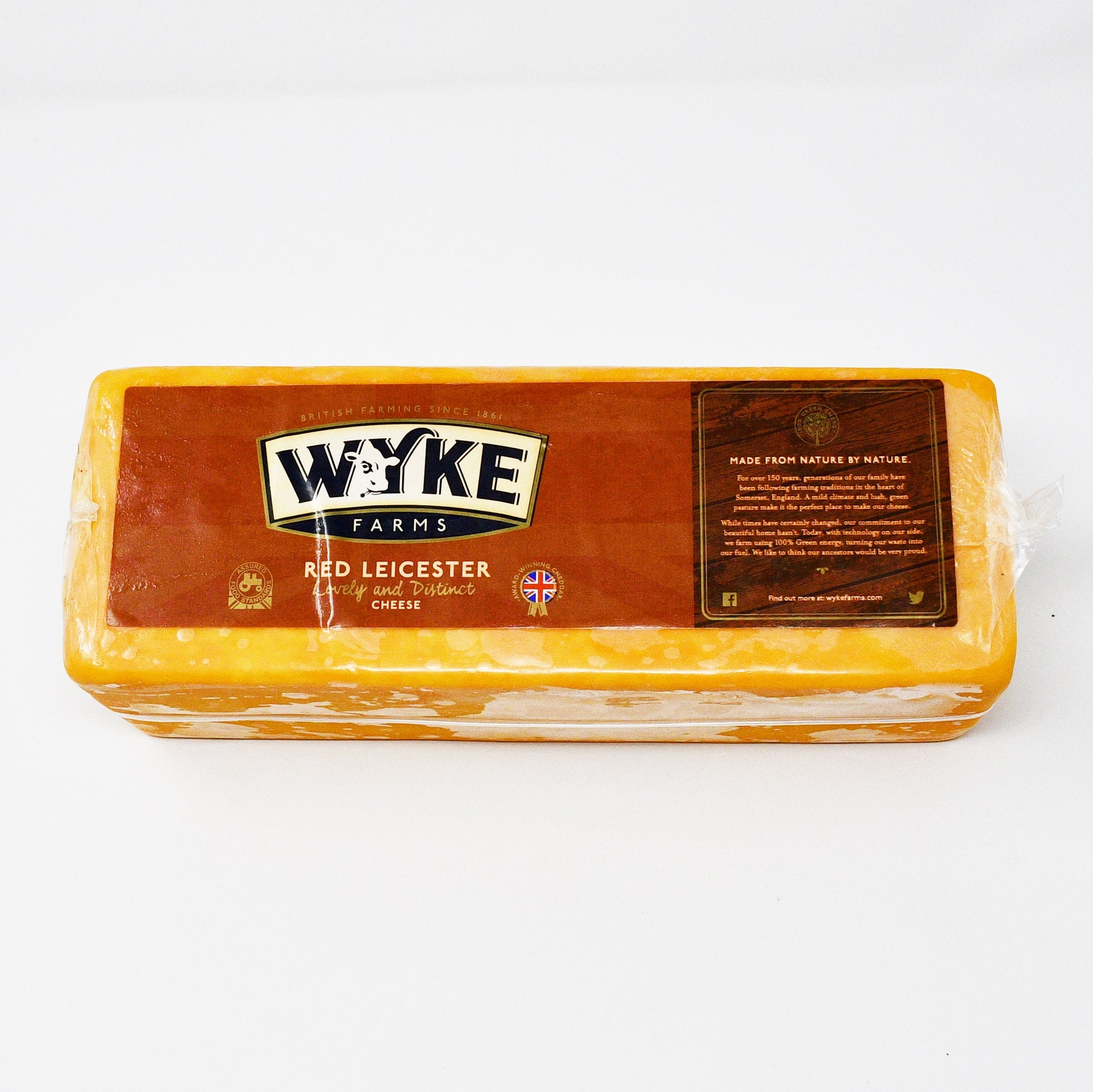WYKE FARM RED LEICESTER (220-250g)