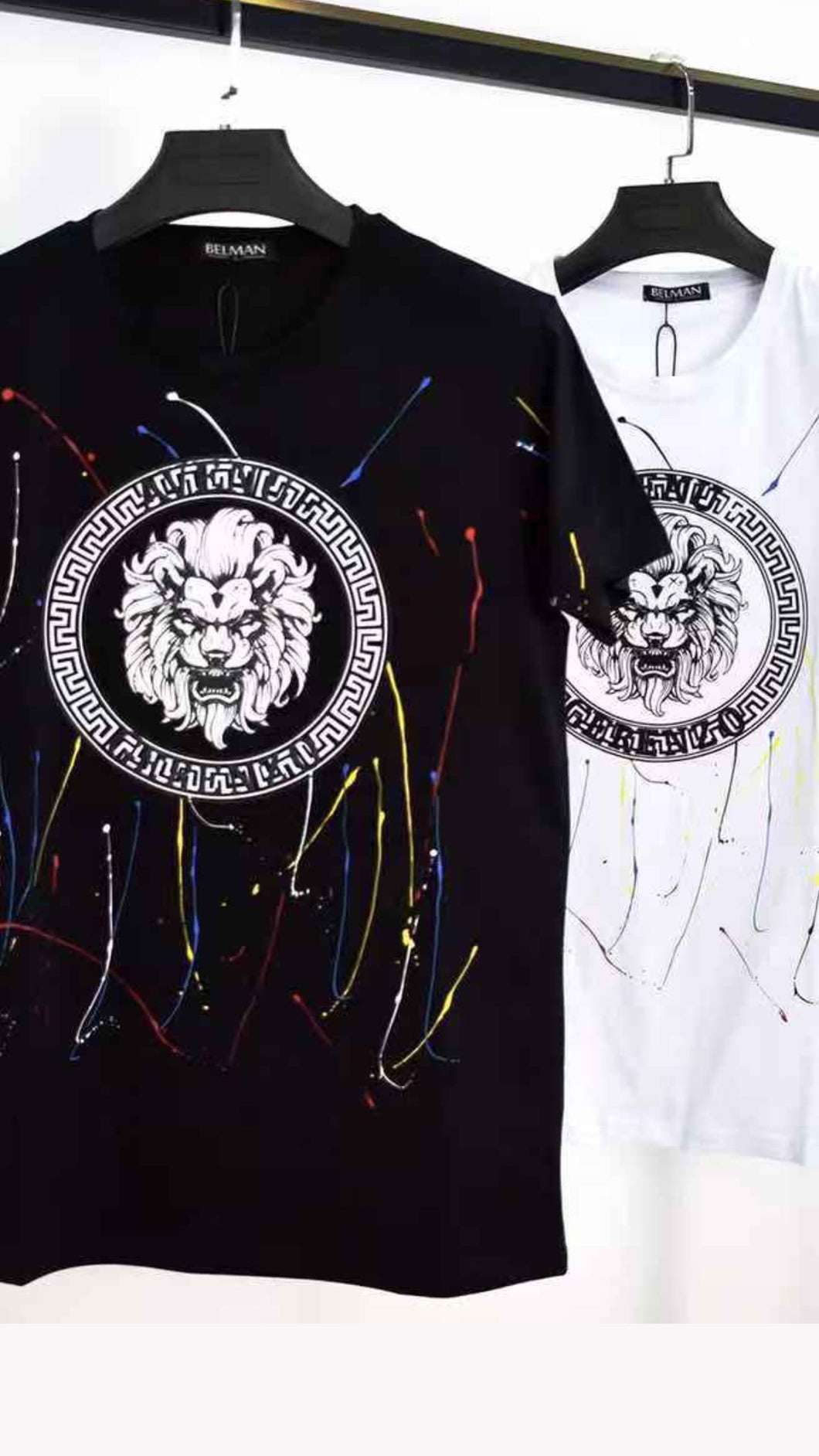 Tee-shirts LION paint