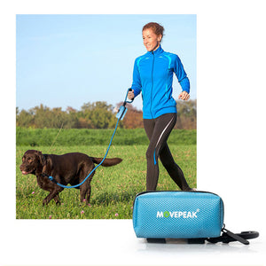 Dog Poop Bag Holder Leash Attachment