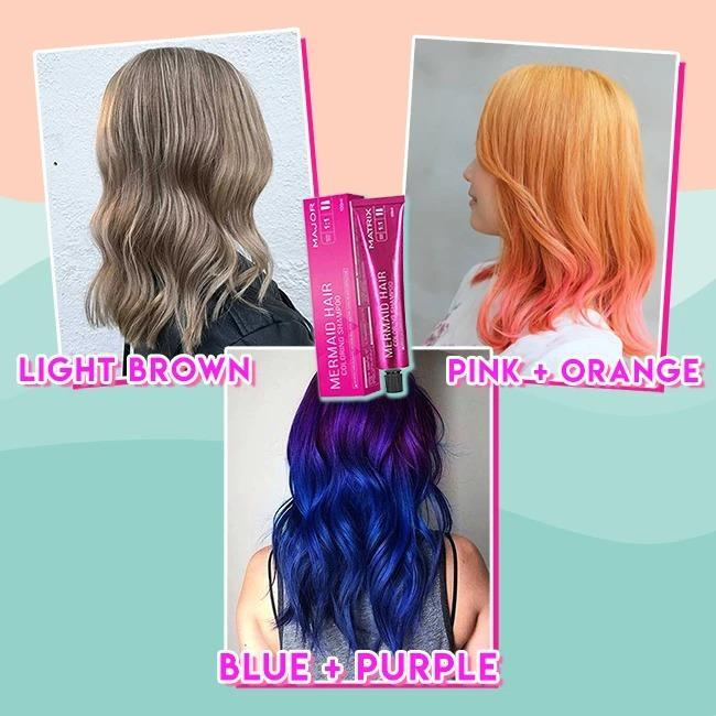 Mermaid Hair Coloring Shampoo💇‍♀