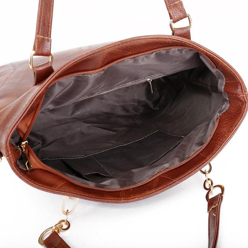 BUY 1 GET 5 FREE-Imported American cowhide leather bag