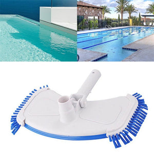 Swimming Pool Curved Vacuum Cleaner Suction Head with Brush