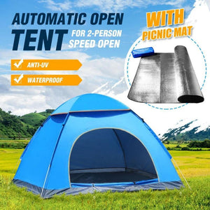 Outdoor Pop-up Tent - Quick And Easy Set Up