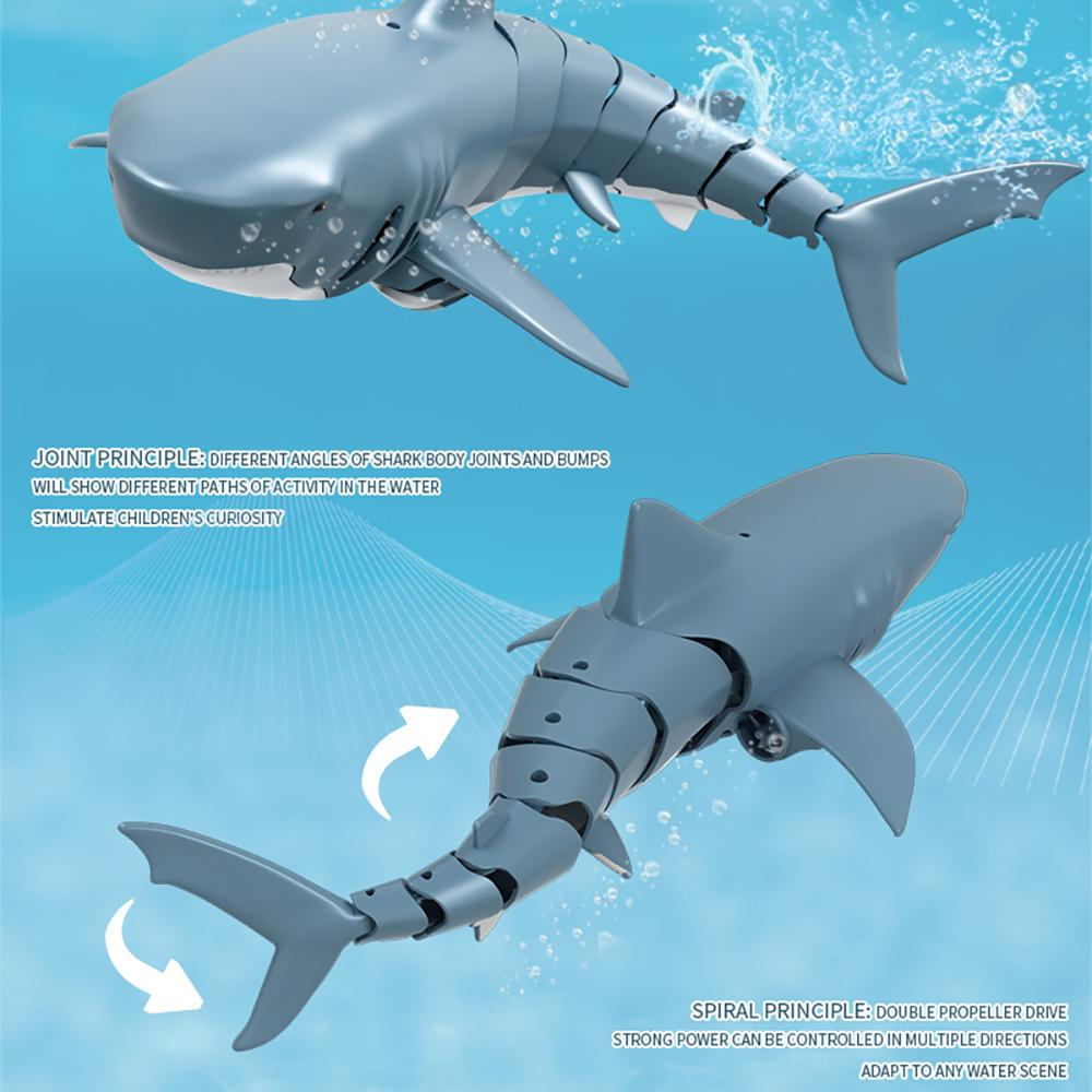 Toys RC Fish Remote Control Shark 2.4G Electric Simulation