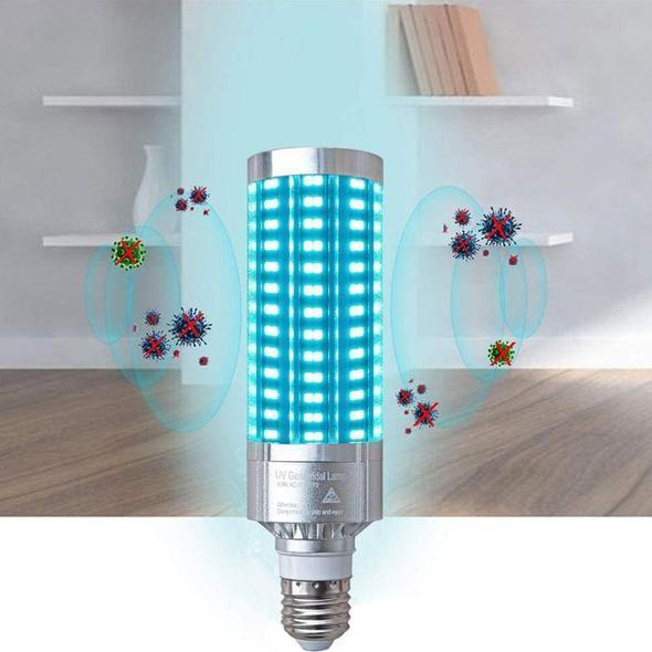 UVC Disinfection Corn Germicidal Bulb with Remote Control