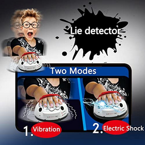 Micro Electric Shocking Lie Detector-Talk the truth inside, invincible party toy!
