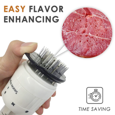 Marinade Meat Injector-Create succulent meats bursting with flavor in minutes