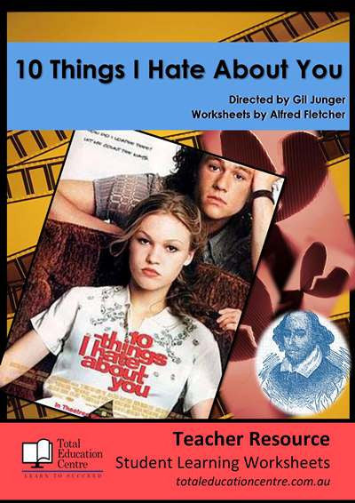 Classroom Activities: Ten Things I Hate About You