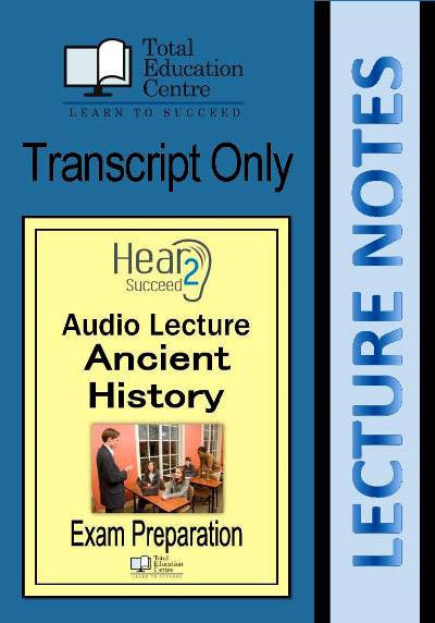 Hear2Succeed Ancient History Exam Preparation Notes