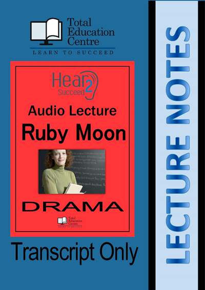 Hear2Succeed Drama Ruby Moon Notes