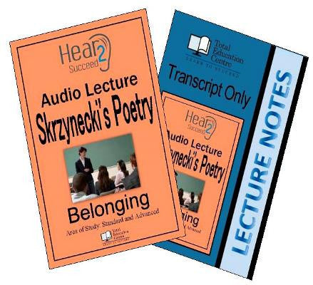 Hear2Succeed English Belonging Skrzynecki Package
