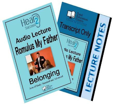 Hear2Succeed English Belonging Romulus My Father Package