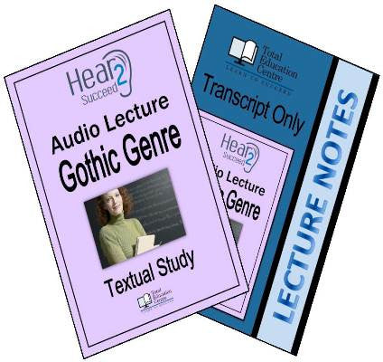 Hear2Succeed English Gothic Genre Package