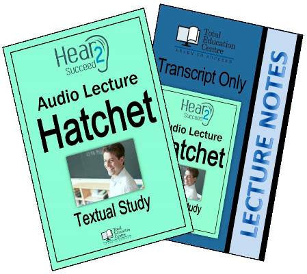 Hear2Succeed English Hatchet Package