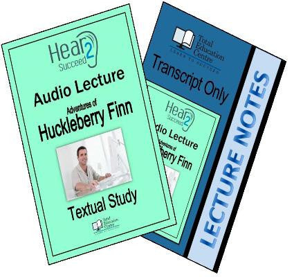 Hear2Succeed English Huckleberry Finn Package