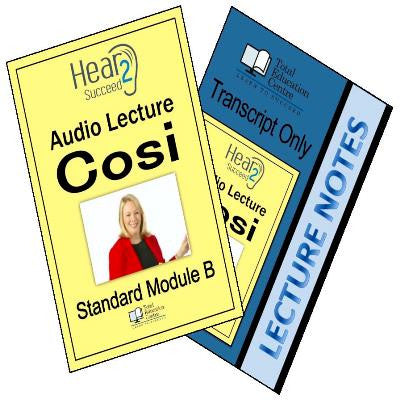 Hear2Succeed English Standard Cosi Package
