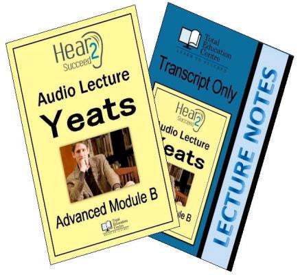 Hear2Succeed English Advanced Yeats Package