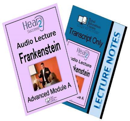 Hear2Succeed English Advanced  Frankenstein Pkg