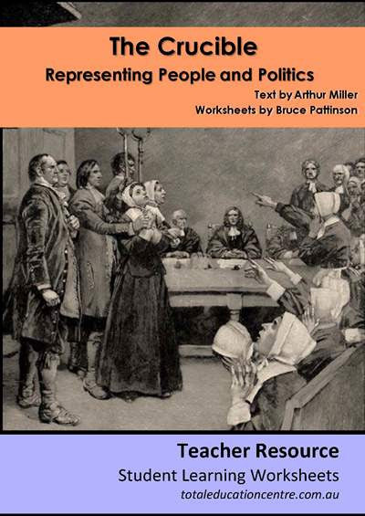 The Crucible - Representing People and Politics