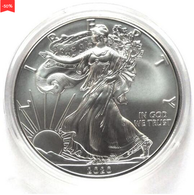 2006-2020 American Eagle Silver Coin Brilliant Uncirculated🗽