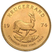1 Oz South African Gold Krugerrand Coin
