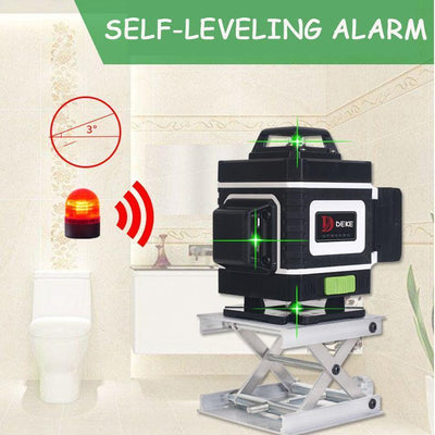 (Prefect Gift For Father's Day)DEKE™ 4D Green Beam Laser Level