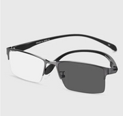2020 Metal Titanium Multifocal Intelligent Reading Glasses