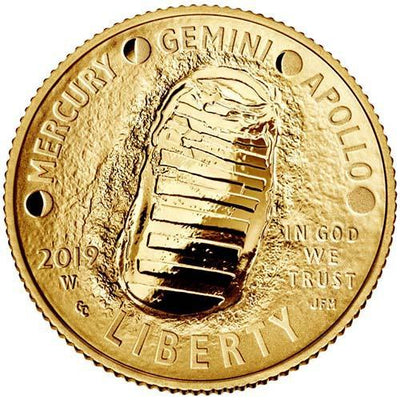 2019 American Apollo 11 50th Anniversary Gold Coin